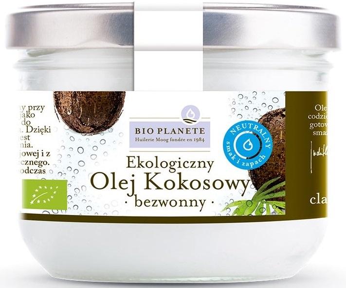 Bio Planete Olej kokosowy bezwonny  BIO