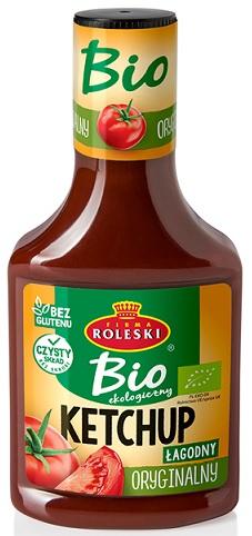 Roleski Ketchup ekologiczny BIO Oryginalny - łagodny