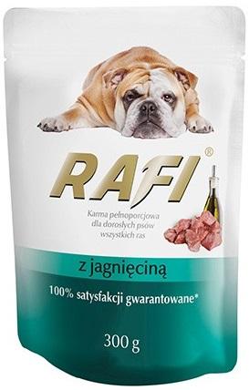 Rafi Karma pełnoporcjowa  dla dorosłych psów wszystkich ras z z jagnięciną