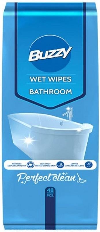 Buzzy Chusteczki nawilżane  do czyszczenia łazienki