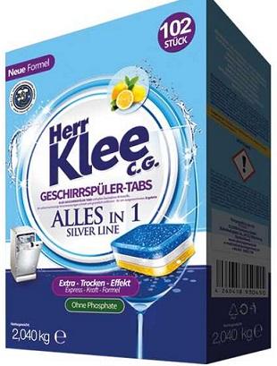 Herr Klee C.G. Silver Line Tabletki do zmywarki