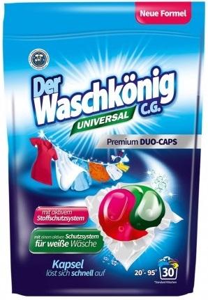 Der Waschkonig C.G. Universal  Kapsułki do prania Duo-Caps