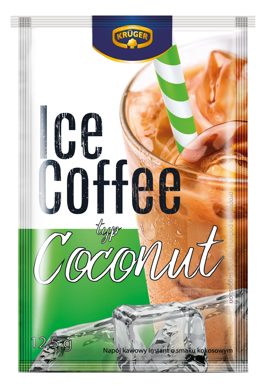 Krüger Ice coffee typ Coconut Napój kawowy instant o smaku kokosowym