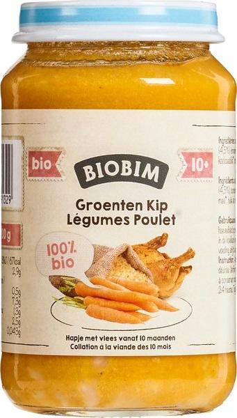 Biobim Ekologiczny obiadek mięsny kurczak z warzywami