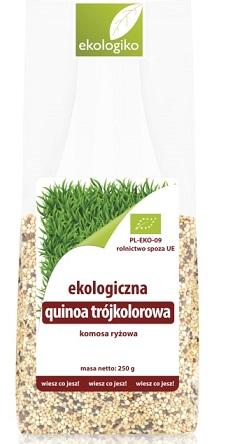 Ekologiko Ekologiczna quinoa   trójkolorowa