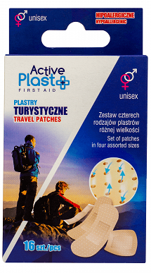 Active Plast First Aid Plastry  turystyczne