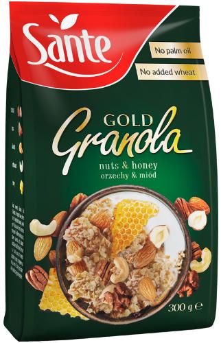 Sante Granola Gold orzechowa