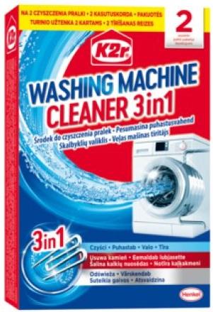 K2r Środek do czyszczenia pralek  3 in 1
