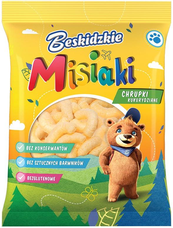 Aksam Beskidzkie Misiaki chrupki  kukurydziane