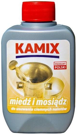 Kamix Miedź i Mosiądz Płyn  do czyszczenia przedmiotów z mosiądzu i miedzi