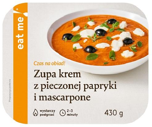 Eat Me Zupa krem z pieczonej papryki i mascarpone