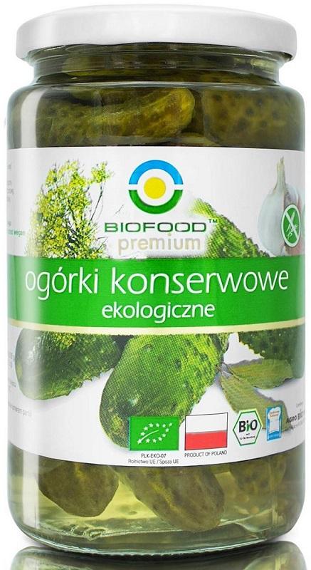 Bio Food Pickled cucumbers BIO