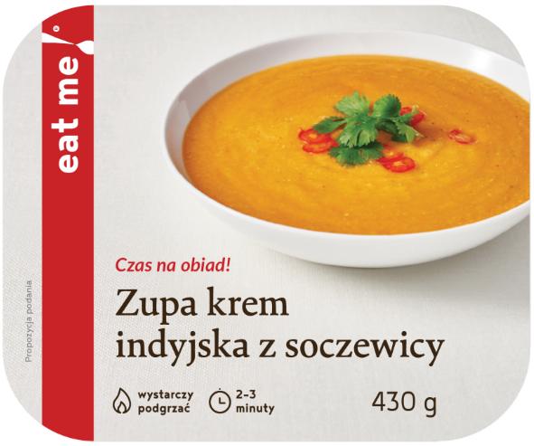 Eat Me Zupa krem indyjska z soczewicy