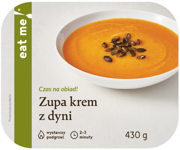 Eat Me Pumpkin Cream Soup