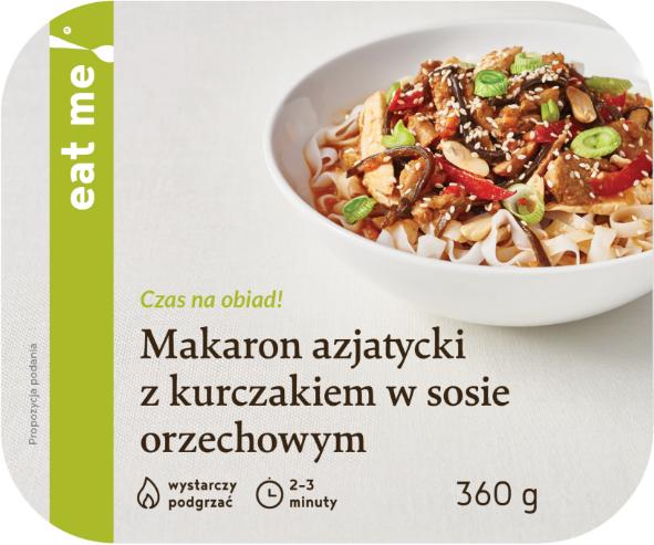 Eat Me Makaron azjatycki z kurczakiem w sosie orzechowym