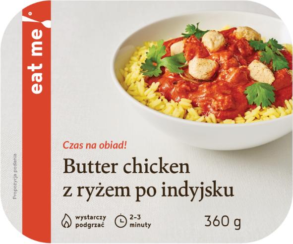 Eat Me Butter Chicken z ryżem po indyjsku