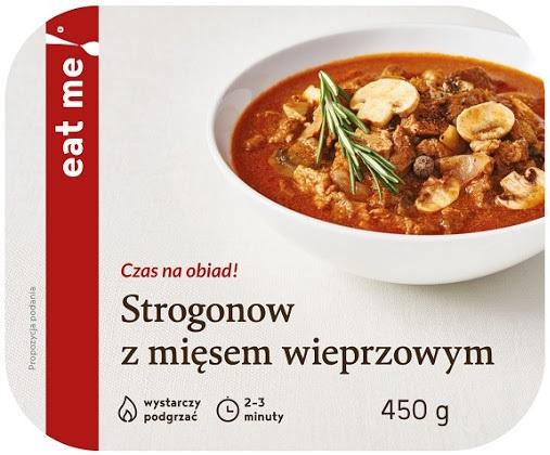 Eat Me Strogonow z Mięsem Wieprzowym