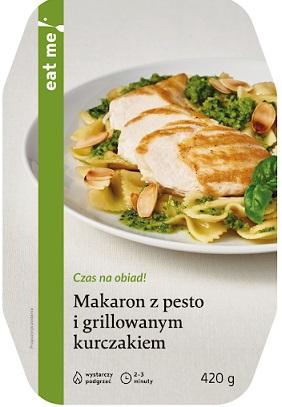 Eat Me Makaron z Pesto Grillowanym Kurczakiem