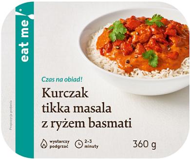 Eat Me Kurczak Tikka Masala z Ryżem Basmati