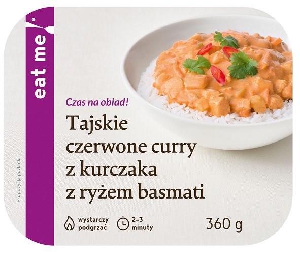 Eat Me Thai Red Curry With Chicken And Basmati Rice