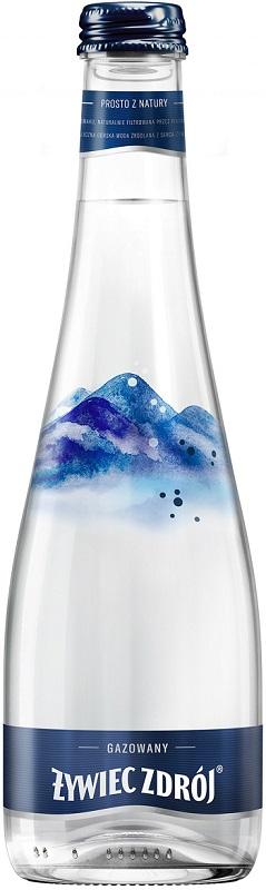 Żywiec Zdrój Sparkling water in a glass bottle