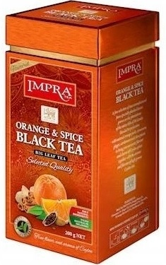 Impra Orange & Spice Black Tea Herbata czarna cejlońska liściasta
