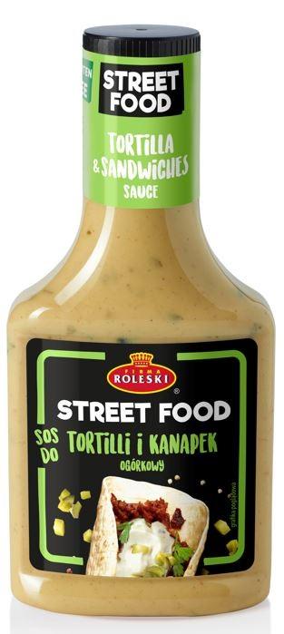 Roleski Sos do Tortilli i Kanapek ogórkowy, linia Street Food