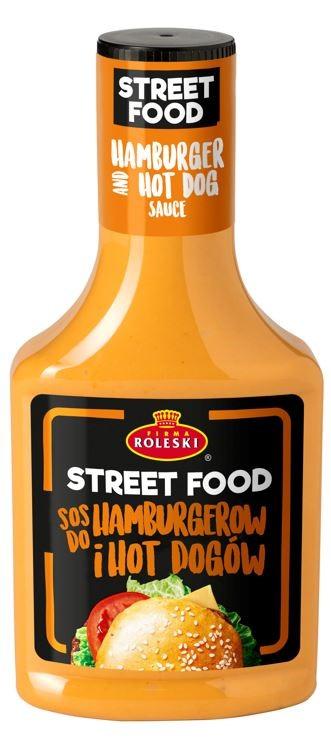 Roleski Sos do Hamburgerów  i Hot Dogów Street Food