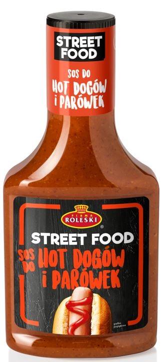 Roleski Sos do Hot Dogów i Parówek linia Street Food