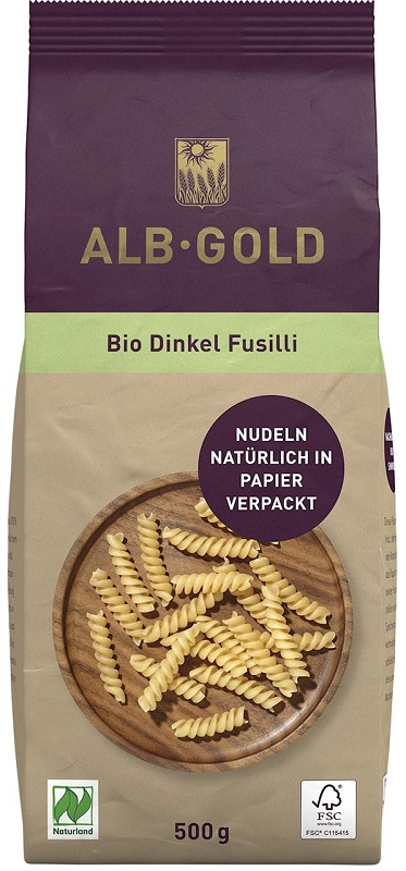 Alb-Gold Makaron (orkiszowy)  świderki BIO