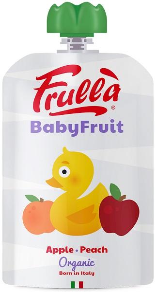 Natura Nuova Przecier jabłkowo - brzoskwiniowy bezglutenowy BIO