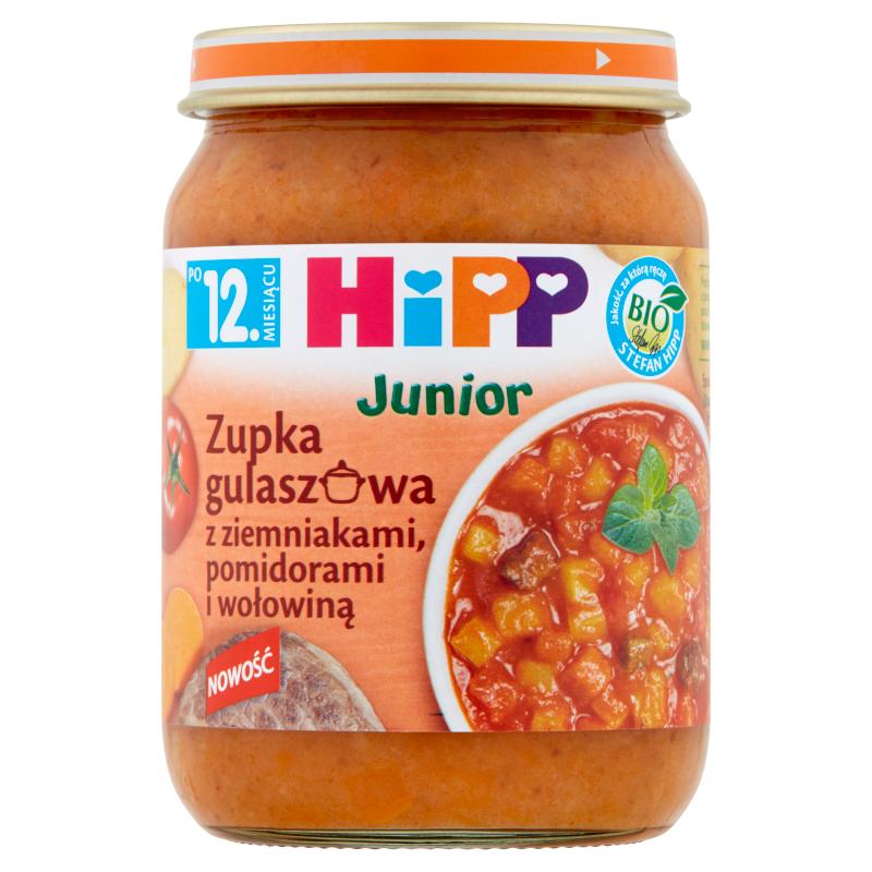 HiPP Zupka gulaszowa z ziemniakami, pomidorami i wołowiną BIO