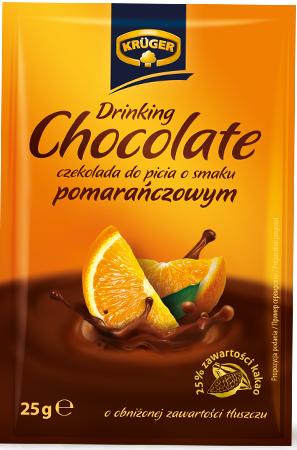 Drinking Chocolate Orange czekolada do picia o obniżonej zawartości tłuszczu