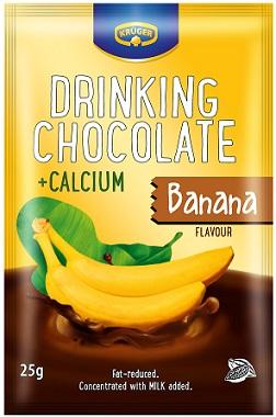 Drinking Chocolate Banana Czekolada do picia o obniżonej zawartości
