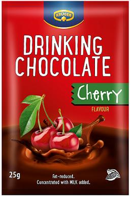 Krüger Drinking Chocolate Czekolada do picia o smaku wiśniowym