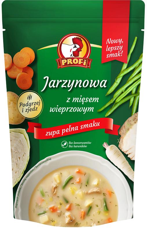 Profi Jarzynowa z mięsem wieprzowym