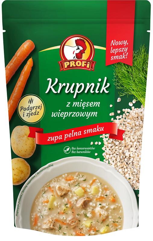 Profi Krupnik z mięsem wieprzowym