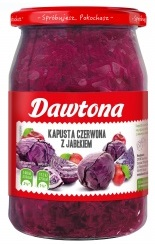 Dawtona Kapusta czerwona z jabłkiem