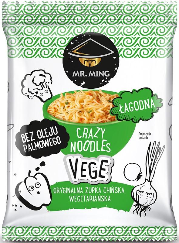 Mr. Ming Zupka chińska crazy noodle Vege łagodna bez oleju palmowego