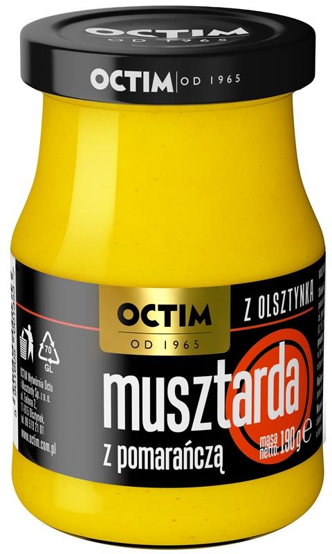 Octim Musztarda z pomarańczą