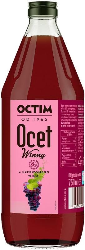 Octim Ocet z wina czerwonego 6%