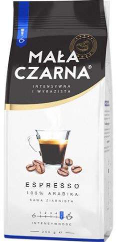 Mała Czarna Espresso Kawa Ziarnista  100% Arabika