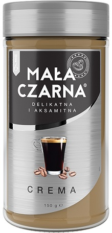 Mała Czarna Crema Kawa Rozpuszczal