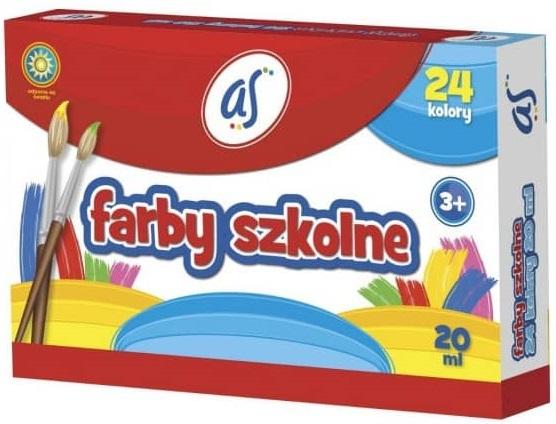 As Farby szkolne 24 kolory