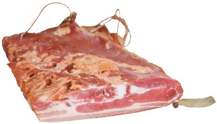 Tradycyjne Jadło Boczek Wieprzowy Surowy Wędzony pakowany minimum