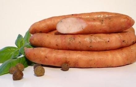 Tradycyjne Jadło Kiełbaski delikatesowe wędzone parzone