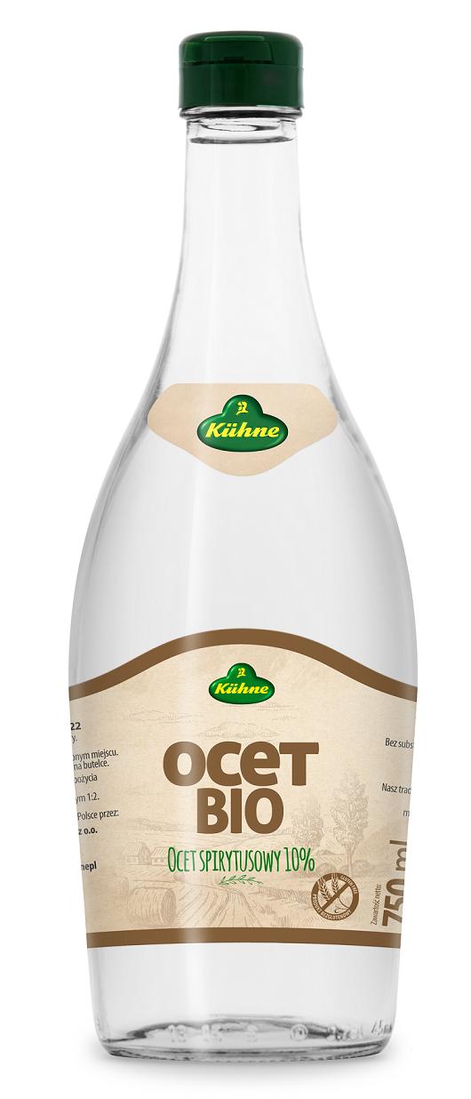 Kühne Ocet Spirytusowy 10% Bezglutenowy, BIO