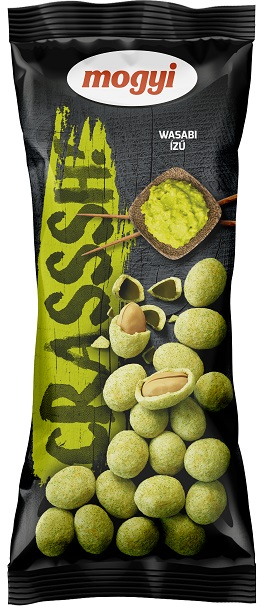 Mogyi CRASSSH!  orzeszki ziemne  w panierce o smaku wasabi