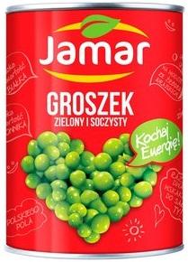 Jamar groszek konserwowy