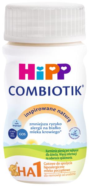 HIPP HA1 COMBIOTIK Mleko hipoalergiczne początkowe, płynne
